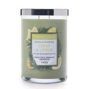 Colonial Candle Classic Cylinder Scented Candle